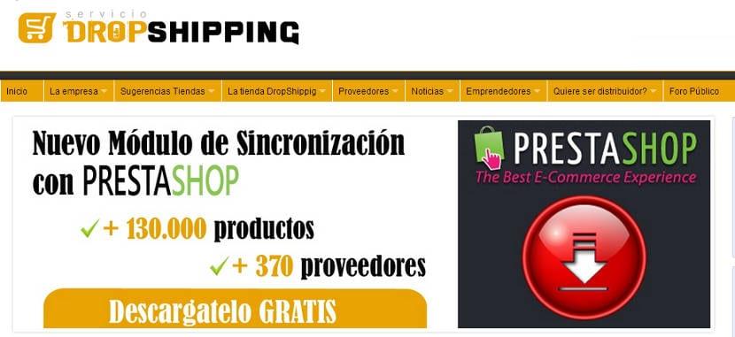 ServicioDropShipping lanza nuevo módulo gratuito de sincronización con PrestaShop
