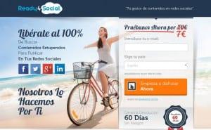 La startup Ready4Social lanza nueva versión de su herramienta de gestión de redes sociales