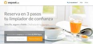 La startup Wayook revoluciona el sector de los servicios de limpieza con marketplace inteligente