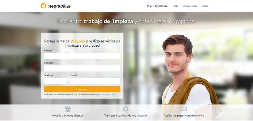 Wayook selecciona 300 profesionales de limpieza y servicio doméstico en toda España