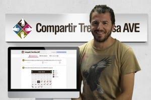Entrevista con Julio Izquierdo, CEO de Peerade Social y creador de la app Compartir Tren Mesa AVE