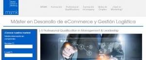 Nuevo máster en Desarrollo de eCommerce y Gestión Logística