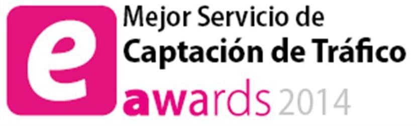 Pixelclip recibe el premio a la Mejor Agencia de Captación de Tráfico en los eAwards 2014