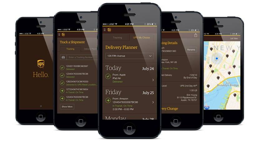 UPS lanza UPS Mobile, su nueva aplicación móvil