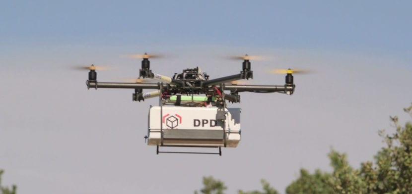 El socio estratégico de Seur DPDgroup desarrolla una terminal de entrega de paquetes para drones