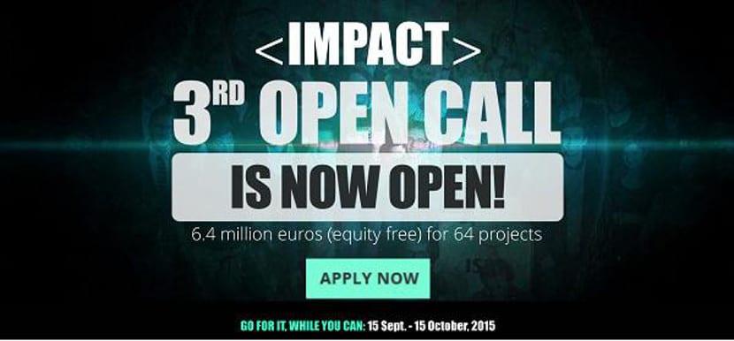 IMPACT invertirá 6,4 MM€ en startups de Internet móvil europeas con su 3ª open call