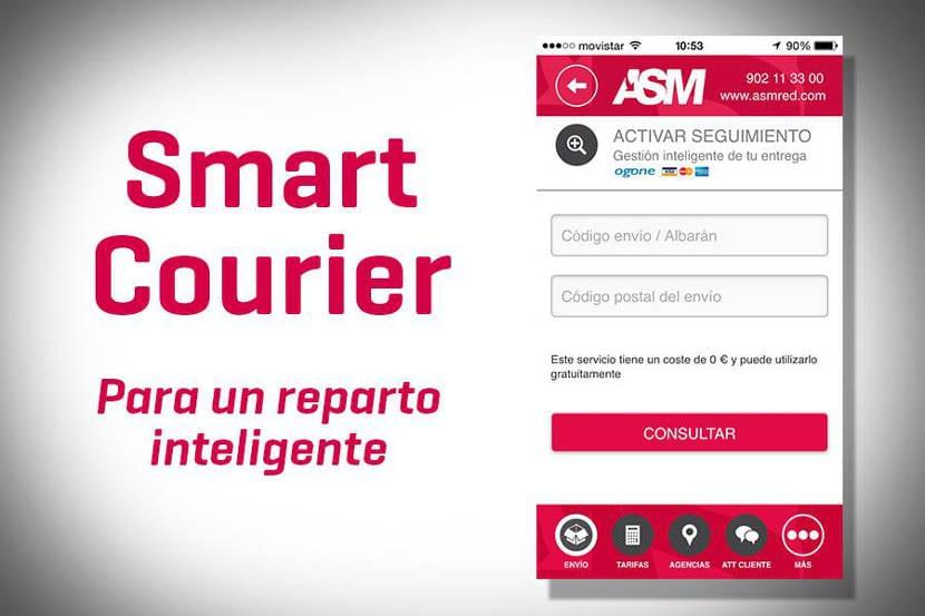 ASM lanza un nuevo servicio para su app Smart Courier que permitirá la gestión inteligente de entrega de envíos