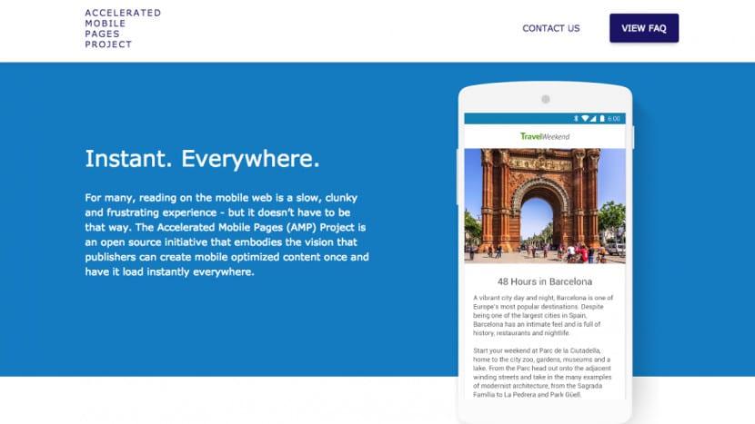 Google presenta el AMP Project, una iniciativa open source para una navegación móvil más rápida