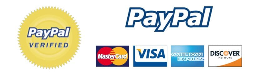 PayPal o con tarjeta de crédito