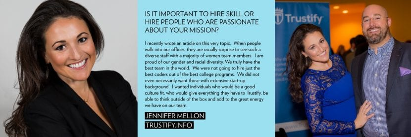 Jennifer Mellon presidenta de Trustify
