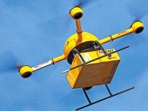 entrega por dron