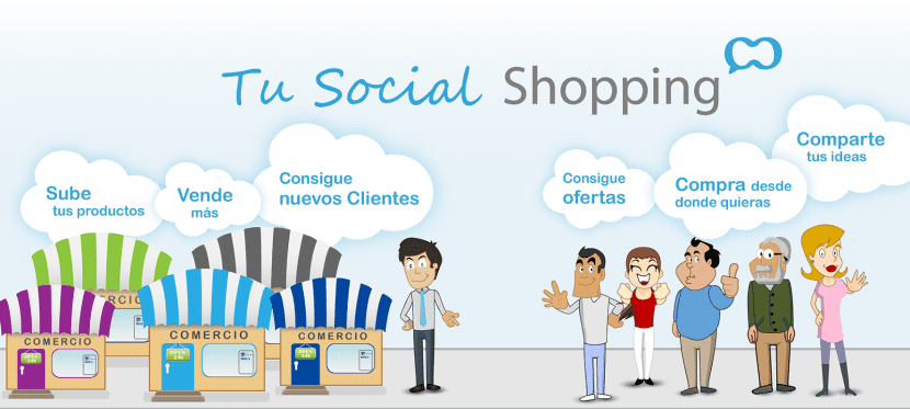 redes sociales una tienda en línea