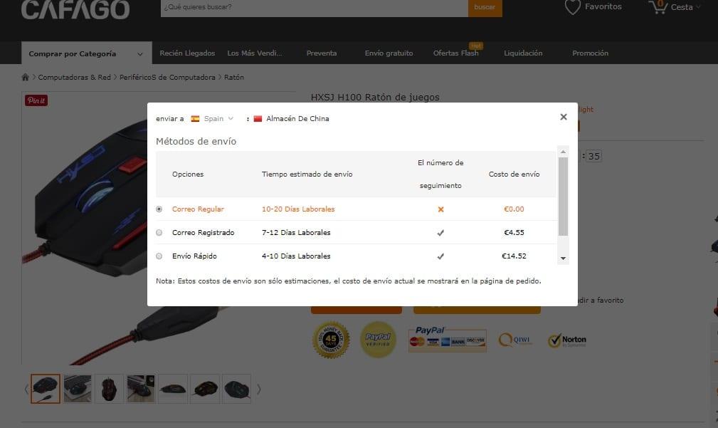 El coste de las entregas fallidas les cuesta mucho dinero a los vendedores, además de arruinar la reputación del comercio. En promedio al menos 1 de cada 20 ordenes