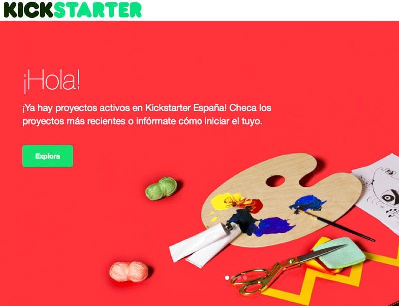 Kickstarter opción financiera