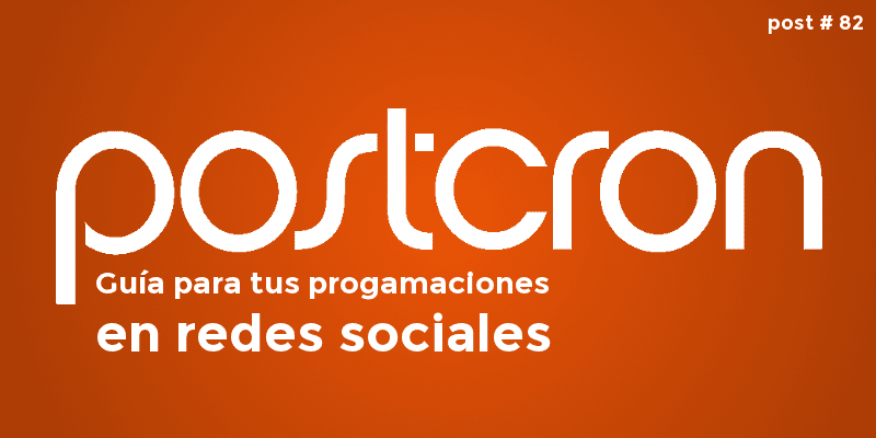 logo de postcron para programaciones en twitter