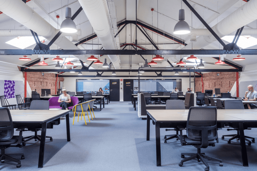 salas de trabajando en google campus madrid