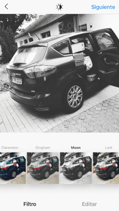 filtros de instagram