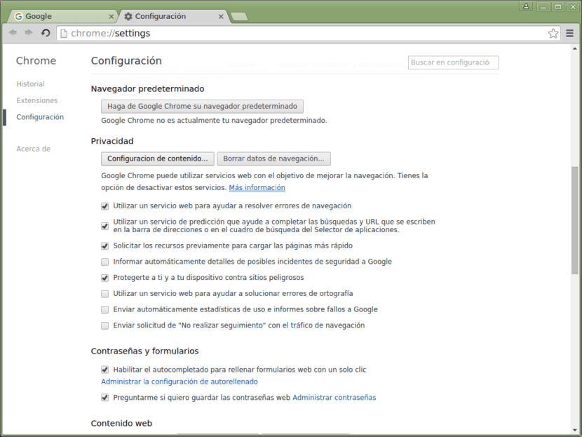 eliminas cookies chrome