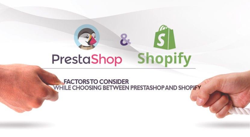 elegir Shopify o PrestaShop