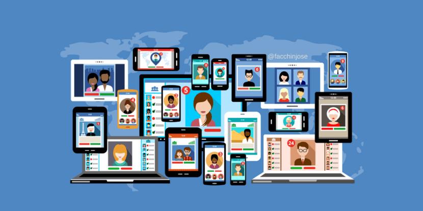 Las redes sociales más utilizadas en España