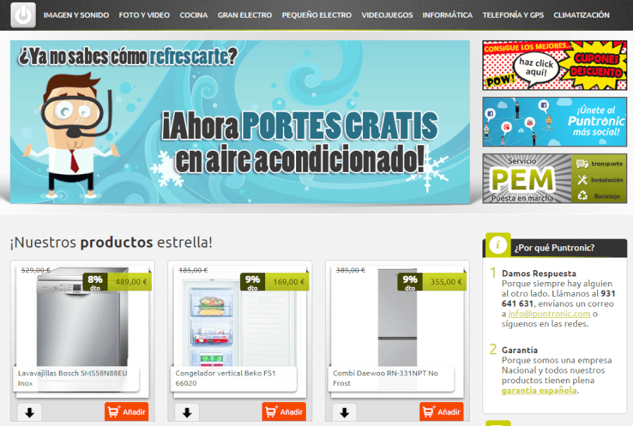 opiniones Puntronic