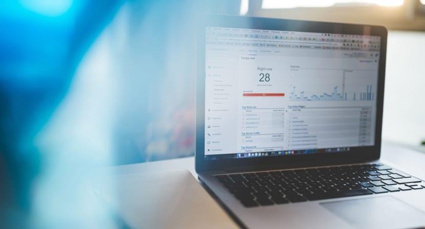 información que facilita la herramienta de análisis web de google