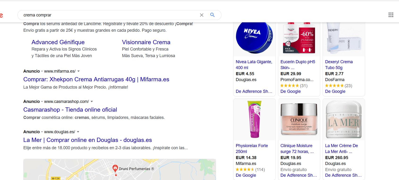 Cómo poner tu tienda en Google Shopping