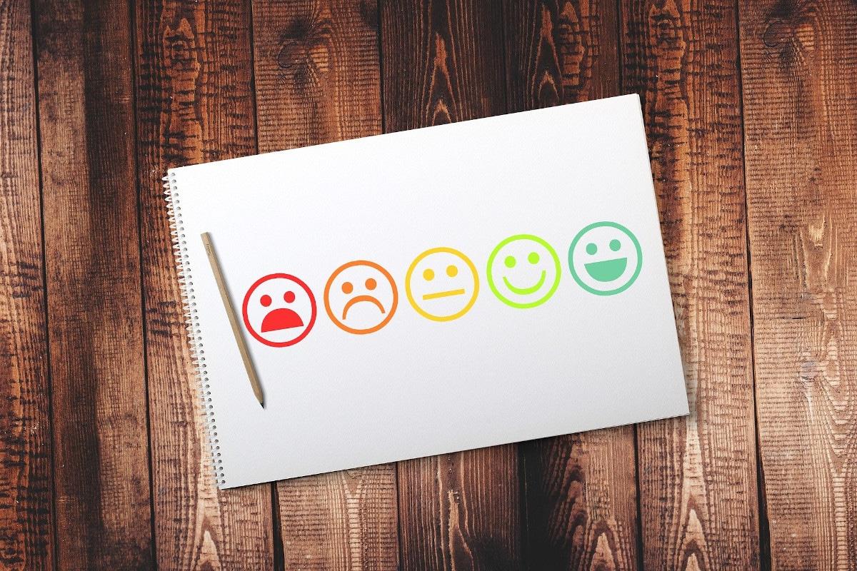 Tipos de comentarios de clientes